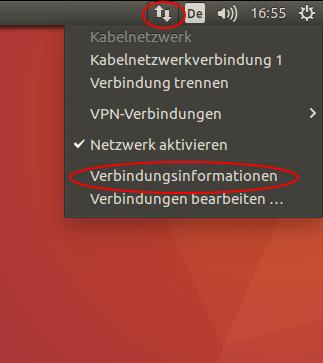 Verbindungsinformationen