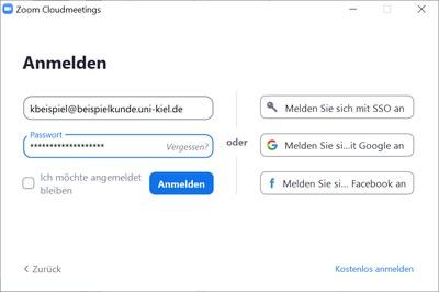 Windows-Login mit Email